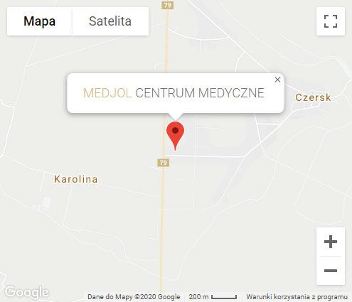 Czersk Mapa